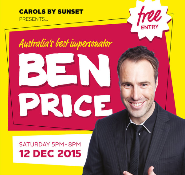 Carols by Sunset 2015 with Ben Price