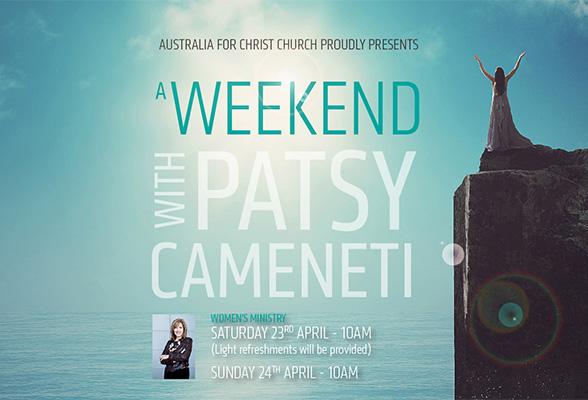 Women's Ministry with Patsy Cameneti
