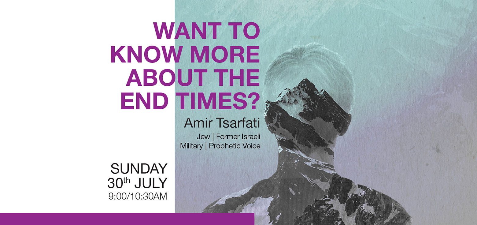 Want to know more about the end times? With Amir Tsarfati