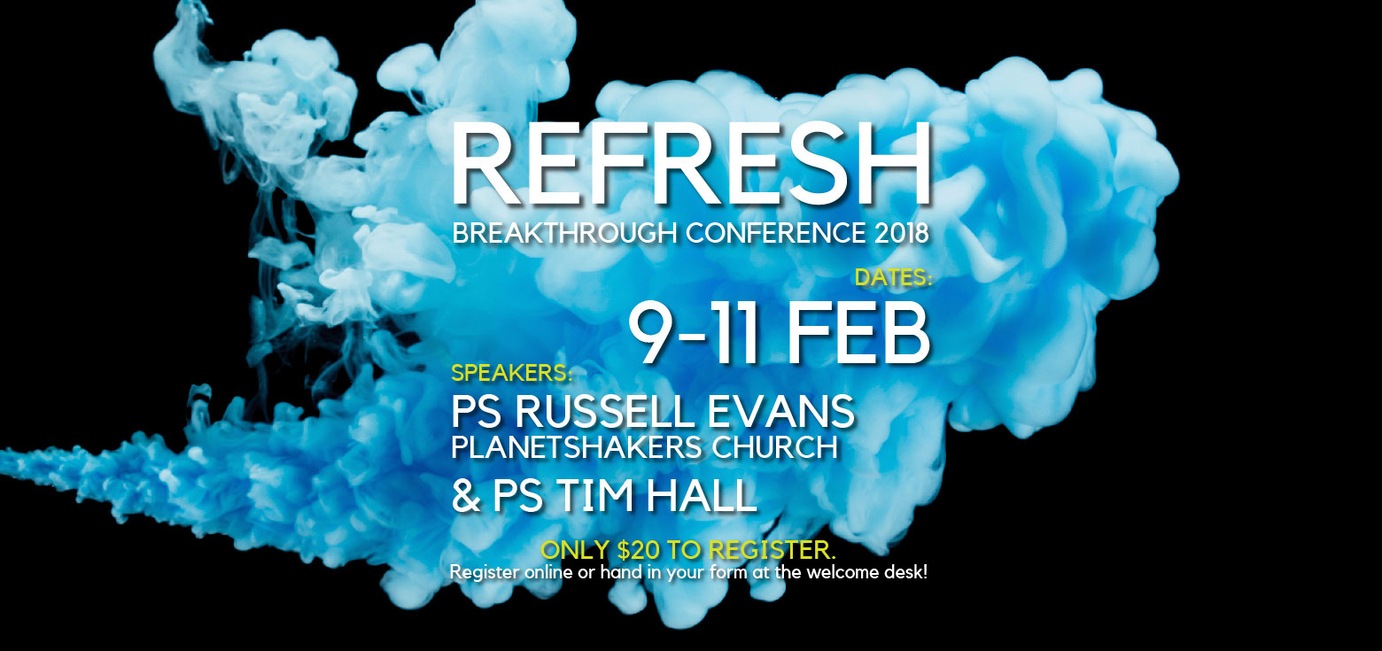Breakthrough Conference 2018 - Refresh