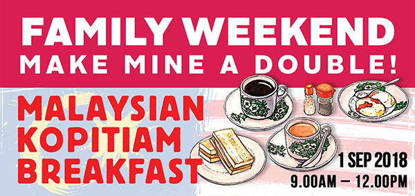 Join us for a Malaysian breakfast