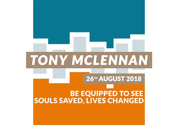 Guest speaker: Tony McLennan